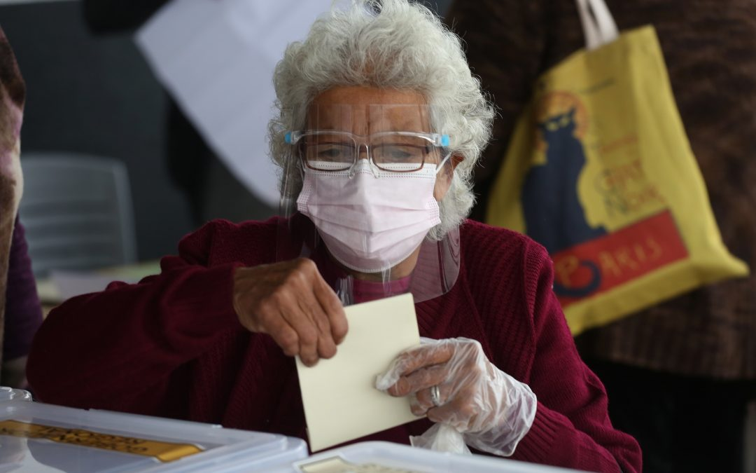 Chile Votes on New Constitution Writers
